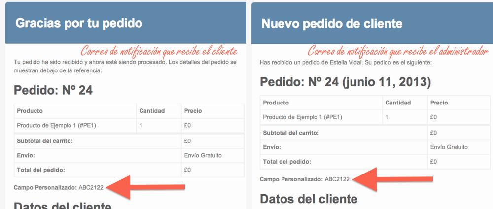 Cómo añadir campos personalizados al formulario de la página de pago ...