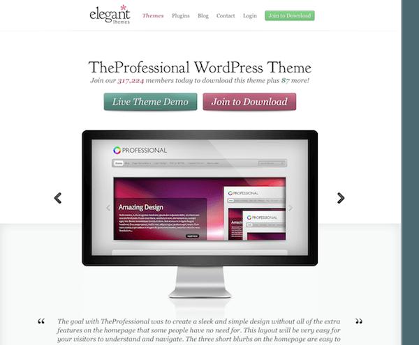 Elegant Themes: The Professional WordPress Theme - Mvkoen