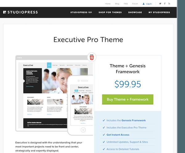 studiopress executive pro theme   mvkoen